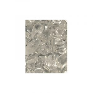Drumstones Fallowing mix Rock crystal (5-10 mm)