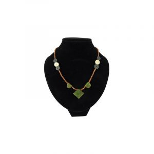 Bohemian Chain Jade with Punthanger