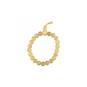 Powerbead Bracelet Calcite Yellow