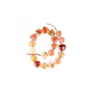 Beads Beam Carnelian Heart
