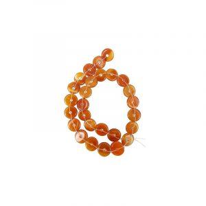 Beads Beam Carnelian Donuts (15 mm)
