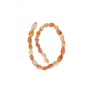 Beads Beam Carneol Oval Light (13 mm)