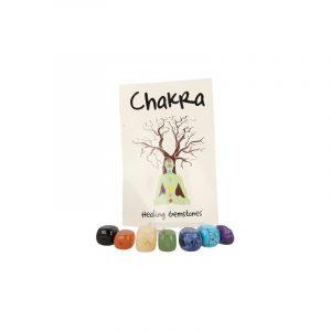 Pierced Gemstones Hangers Chakra (Set)
