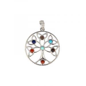 Chakra Pendant Tree of Life (Model 2)