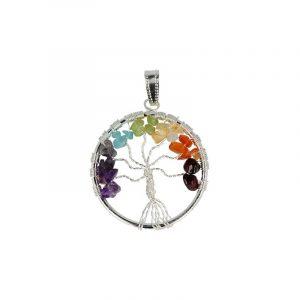 Chakra Pendant Tree of Life (Model 1)
