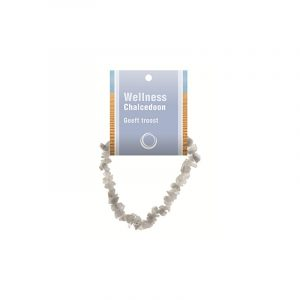 Split bracelet Chalcedoon - with Explanation Card
