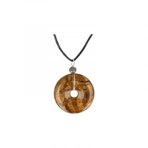 Donuthier Tiger eye on Cord (40 mm)