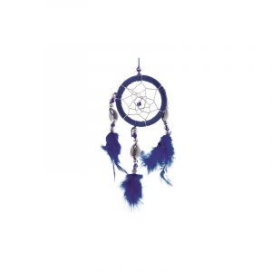 Dream catcher Dark Blue Shells (5 cm)