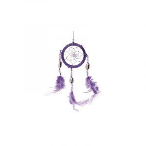 Dream catcher purple Shells (5 cm)