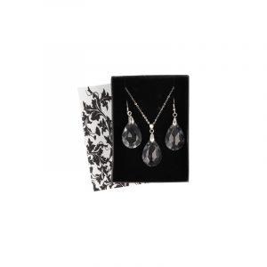 Pendant and Earrings Set Feng Shui Drop