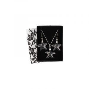 Pendant and Earrings Set Feng Shui Star
