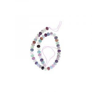 Beads Beam Fluorite Rainbow (10 mm)