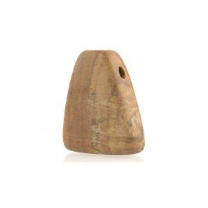 Pierced Hanger Fossil Wood