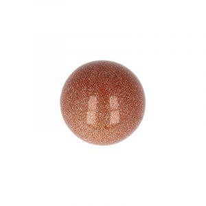 Globe of Gemstone Goldfluss (20 mm)