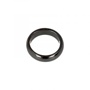 Gemstones Ring Hematite (6 mm - Size 20)