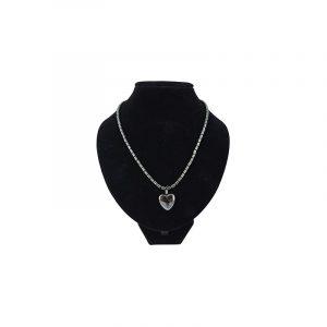 Gemstones Chain Hematite Chain Heart