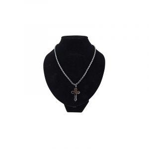 Gemstones Chain Hematite Chain Cross