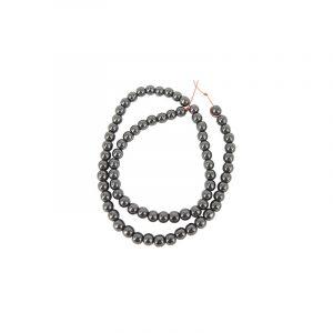 Beads Beam Hematite (6 mm)