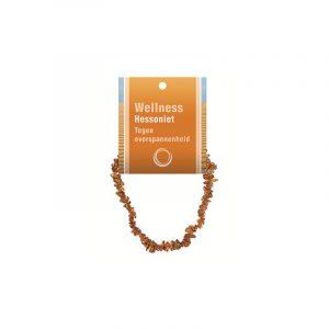 Split bracelet Hessonite - with Explanation Map