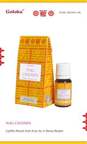 Goloka Fragrance Oil Nag Champa