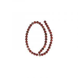 Kralen Streng Jaspis Breccie (8 mm)