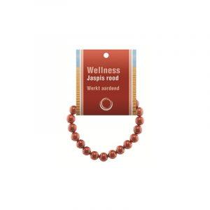 Powerbead Bracelet Jasper Red (With Display Card)