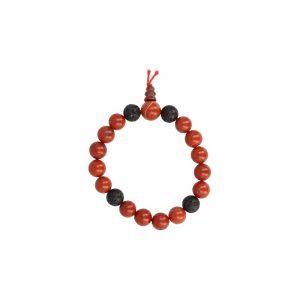Powerbead Men Bracelet Jasper Red (Model 1)