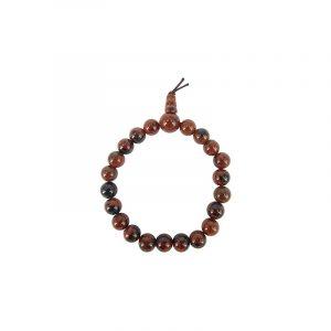 Powerbead Bracelet Obsidian Mahogany