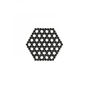 Onyx Flower of Life Coaster - Mattress