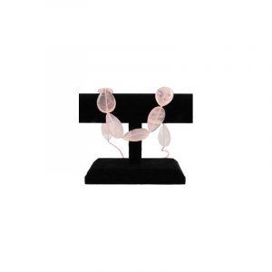 Beads Pink Quartz Drop Shapes