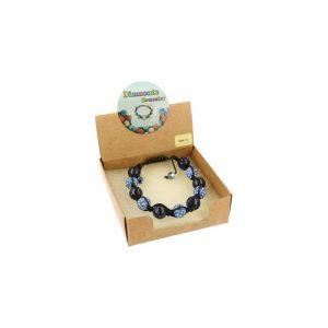 Gemstones Shamballa Bracelet Sodalite
