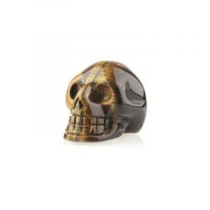 Gemstones Skull Tiger eye (65 mm)