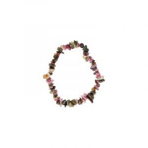 Split bracelet Tourmaline Watermelon (Multi)