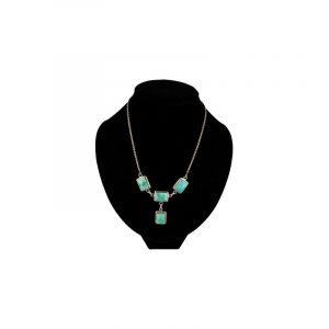 Silver Necklace Turquoise
