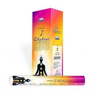 Darshan Incense 7 Chakras (6 pack)
