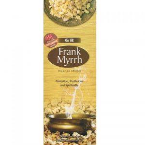 G.R. Incense Frank Myrrh (6 packets)