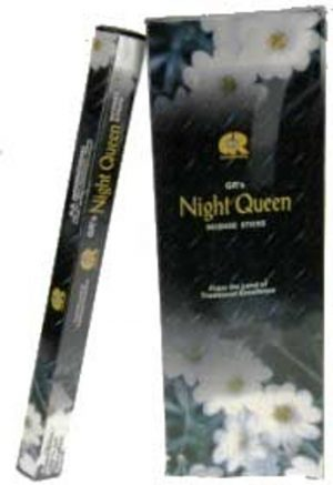 G.R. Incense Night Queen (6 packages)