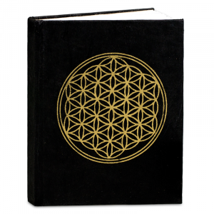 Notebook with Flower of Life