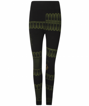 Yoga Legging Bhakti Black Biological (Size S-M)