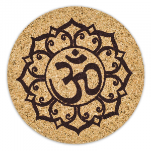 Ohm Lotus Coasters (Set of 6)