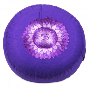 Meditation cushion 7th Chakra Sahasrara Embroidered