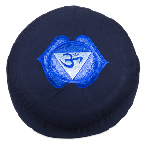 Meditation cushion 6th Chakra Ajña Embroidered