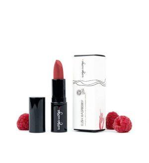 Organic Lipstick Lush Raspberry 615