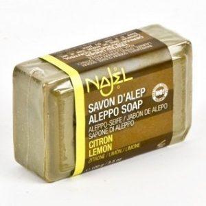 Organic Aleppo Olive soap Lemon Lime