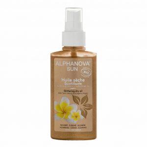 Organic Sunburn Glittering Dry - Spray