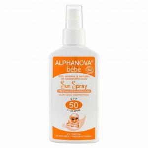 Vegan Sunscreen spray for babies (SPF 50)