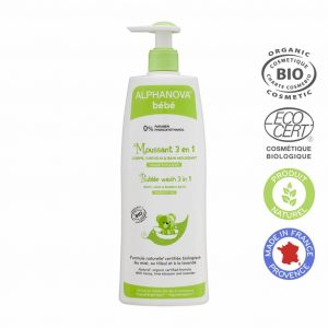 Biological 3 in 1 Bubble Wash for Babys