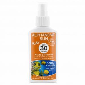 Vegan  Sunscreen spray for children (SPF 30)