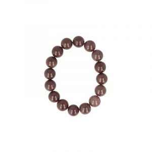 Fantaine purple Beads Men Bracelet (12 mm)