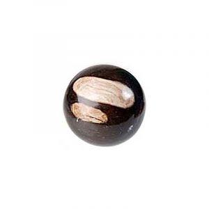 Fossil Wood Gemstone Sphere (17 cm)